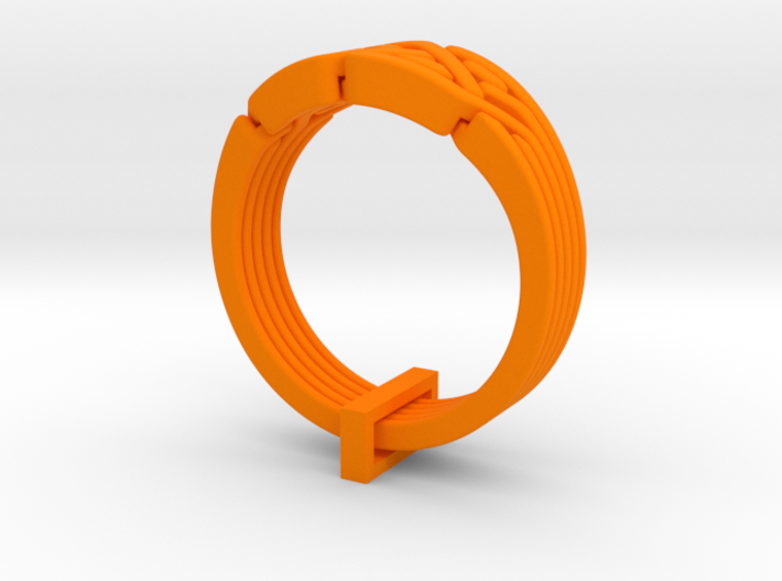 Olympic Puzzle Ring 3d printed