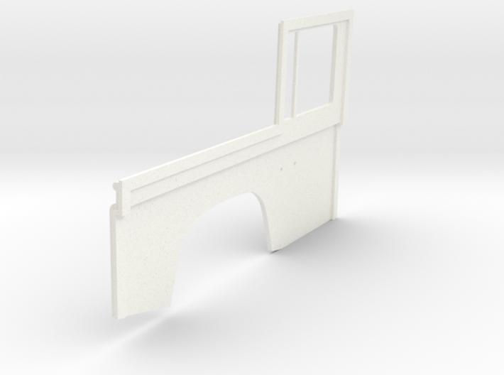 Conversion left side D90 to D110 1:18 Gelande 1/4 3d printed