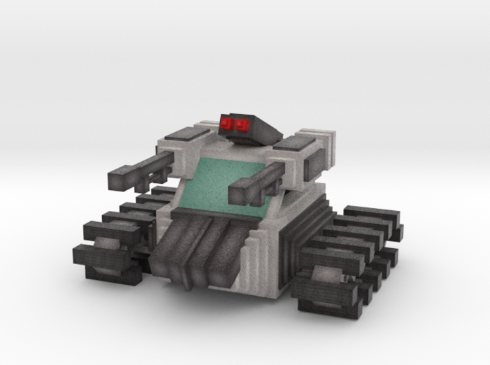 """R.A.D. """"Re-Enforcement Assault Drone"""" 3d printed"""
