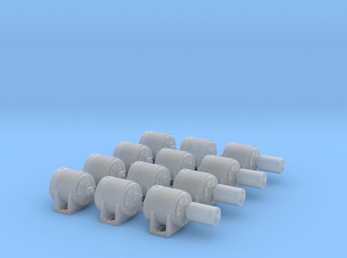 1:87 Electric Motors V1, v2, v3 - 4ea 3d printed