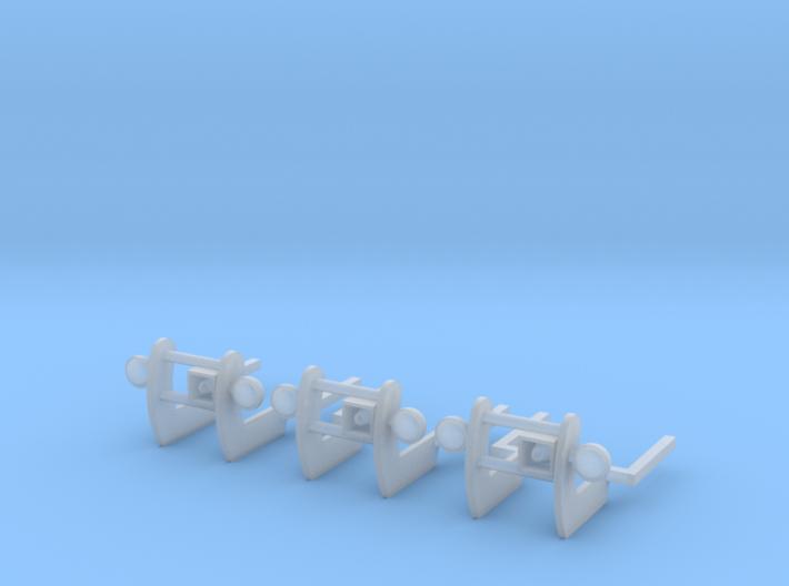 1/64 Pushbar set of 3 3d printed