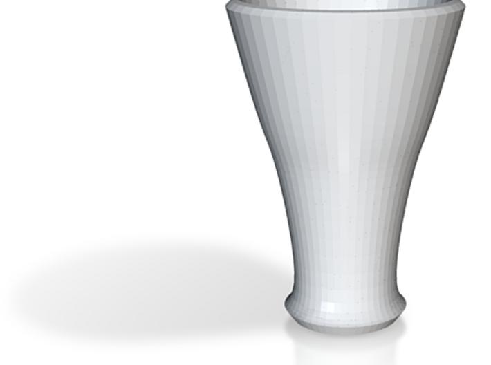 white cap cup 2 3d printed