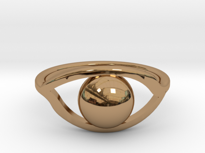 All-Seeing ring 3d printed