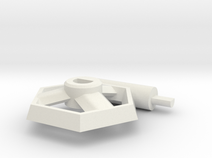 GUMS Stand 1 - 170219-0 3d printed