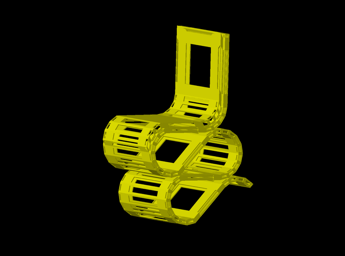 Chair 3d printed