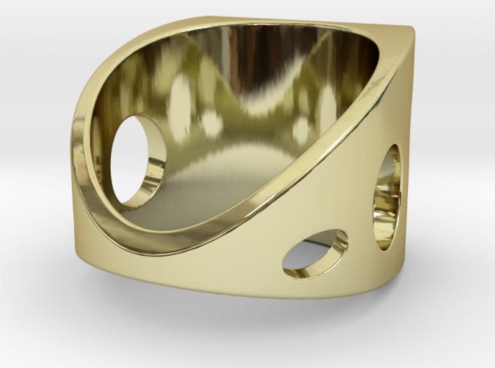 Sail Ring G 3d printed
