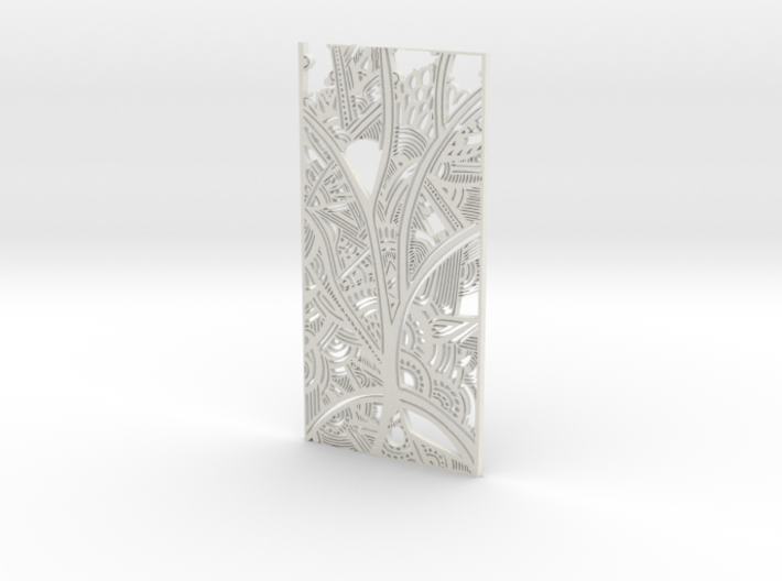 Tribal Panel Trees 3d printed