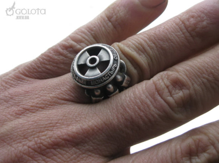 STALKER-Ring (Common God ring) 3d printed my own (slightly defective) copy of rings in silver