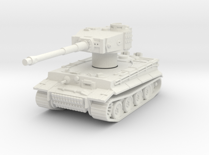 Pzkpfw VI Tiger Rotatable Turret 3d printed