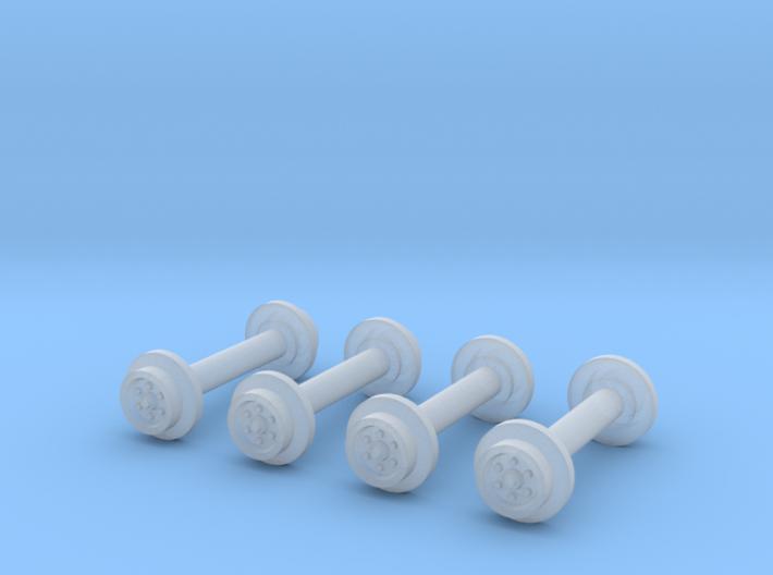 MOW Wheels 4 3d printed