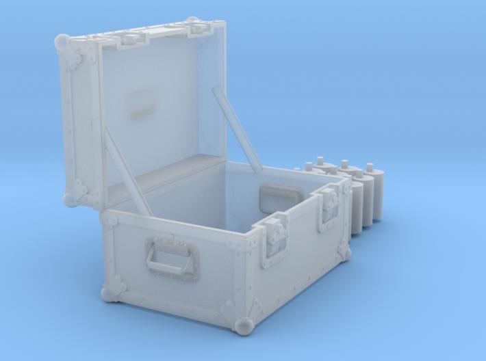 BACK FUTURE 1/8 EAGLEMOS PLUTONIUM BOX OPEN NO FOA 3d printed