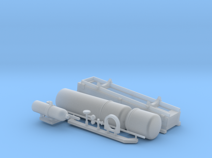 1:16 Early USN style Smoke Generator 3d printed