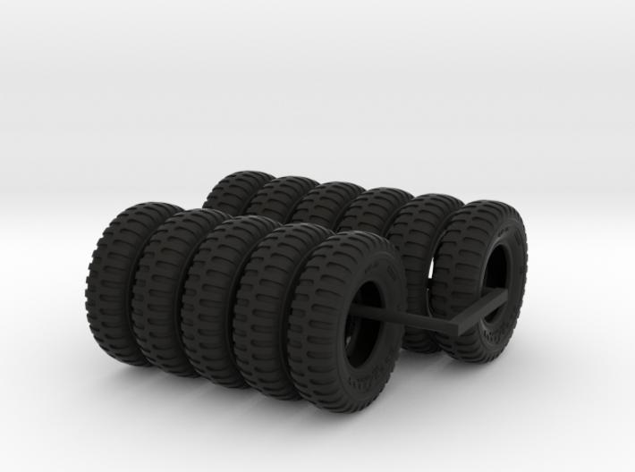 1-24 900x20 M35 Tires Set3 3d printed