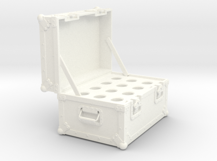 BACK FUTURE 1/8 EAGLEMOS PLUTONIUM BOX OPEN NO BOT 3d printed
