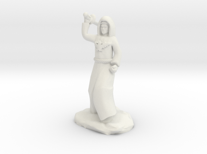 Dragon Cultist with Scimitar 3d printed