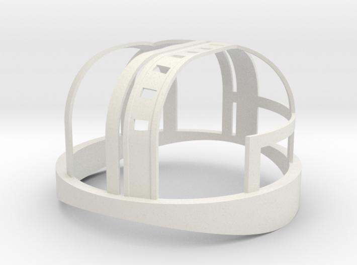HDL 151 Turret Frame 1:10 3d printed