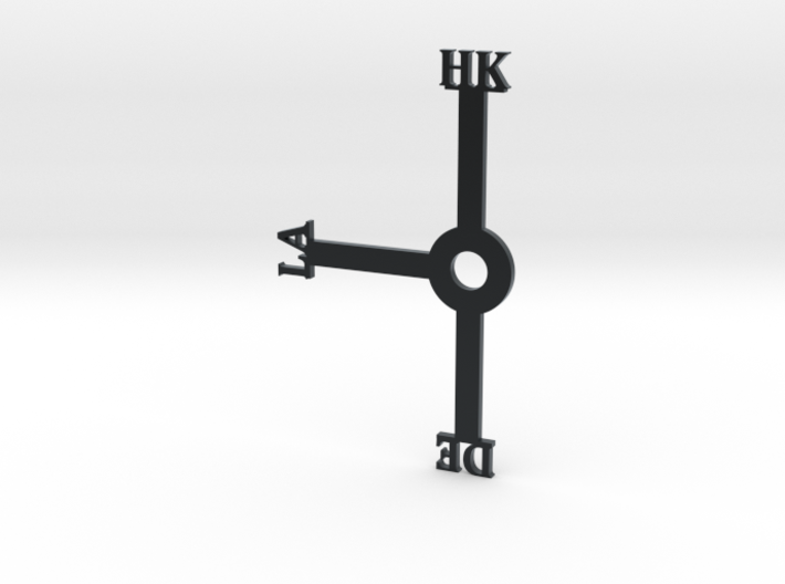Hong Kong Clock (Honk Klonk) (For Daylight Savings 3d printed