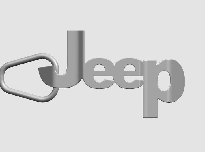Jeep Grill Keychain 3d printed