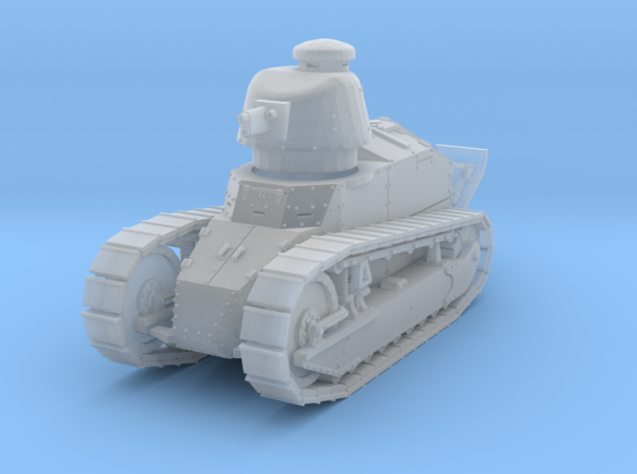 PV07B Renault FT Cannon Cast Turret (1/100) 3d printed