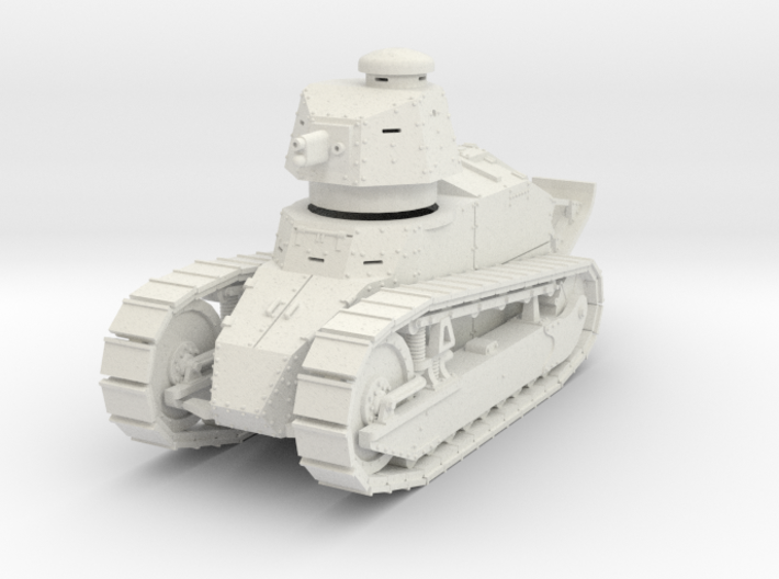 PV09A Renault FT Cannon (28mm) 3d printed
