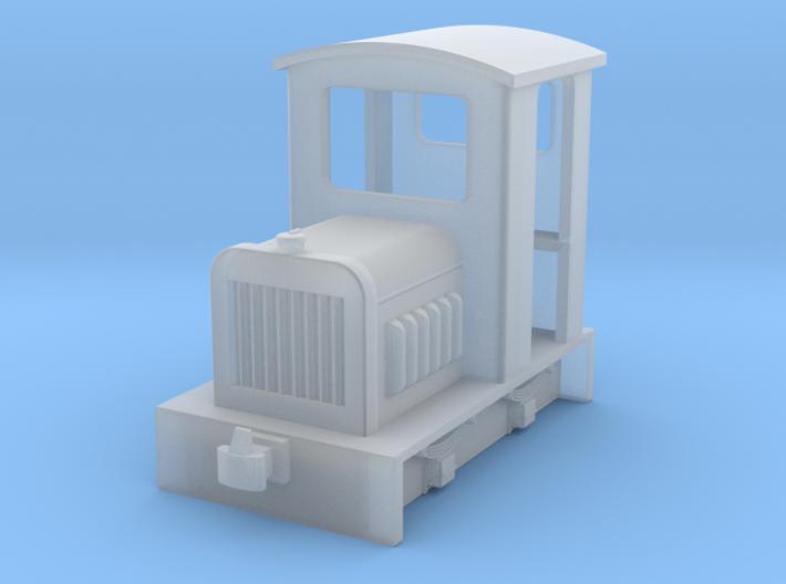 HOf Diesel loco 1 3d printed