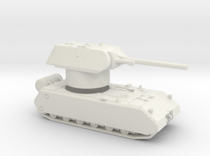 Maus With Rotatable Turret 3d printed