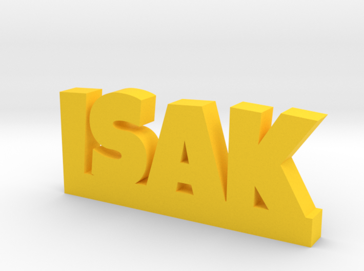 ISAK Lucky 3d printed