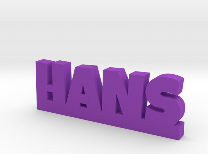 HANS Lucky 3d printed