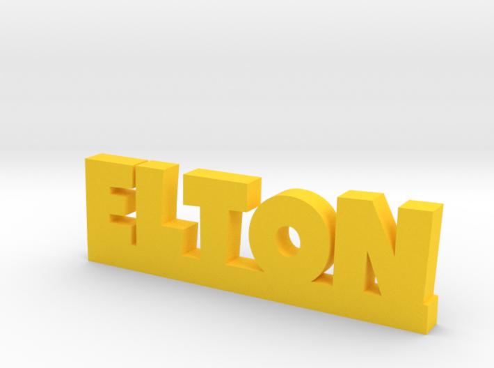 ELTON Lucky 3d printed