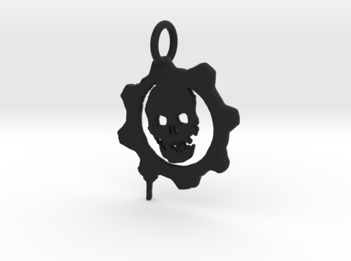 Gears of War Pendant 3d printed