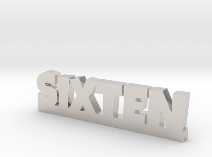 SIXTEN Lucky 3d printed