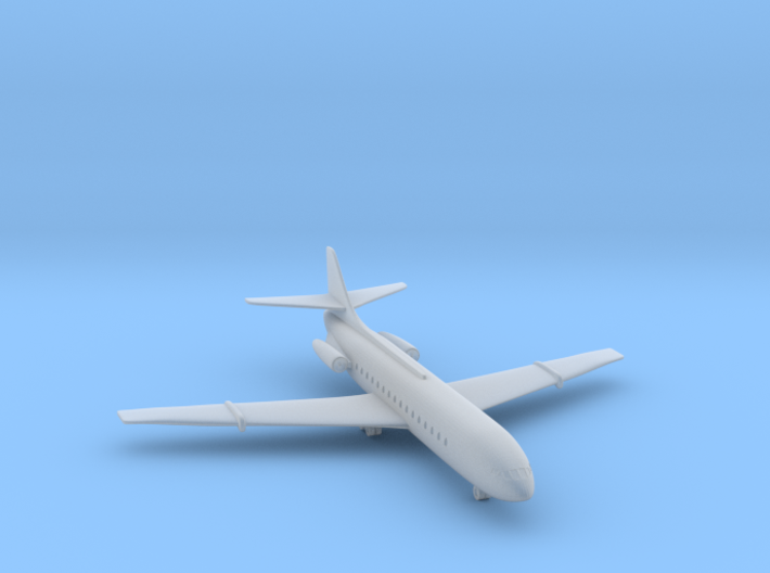 1/500 Caravelle III 3d printed