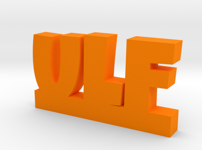 ULF Lucky 3d printed