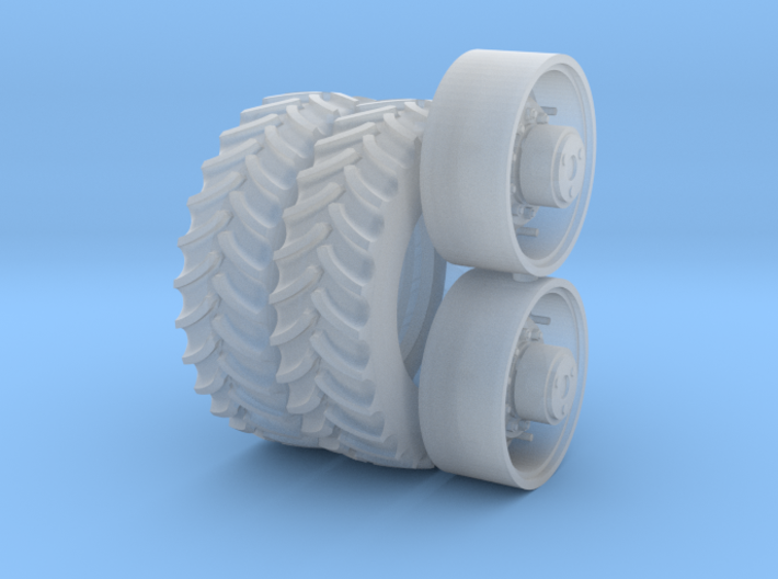 30 Inch FWA Wheel And Tire 3d printed