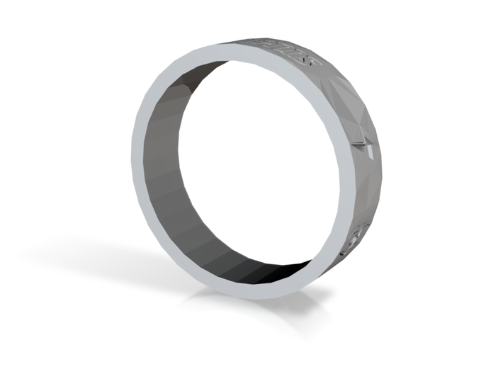 Champions Ring (Smooth) 3d printed