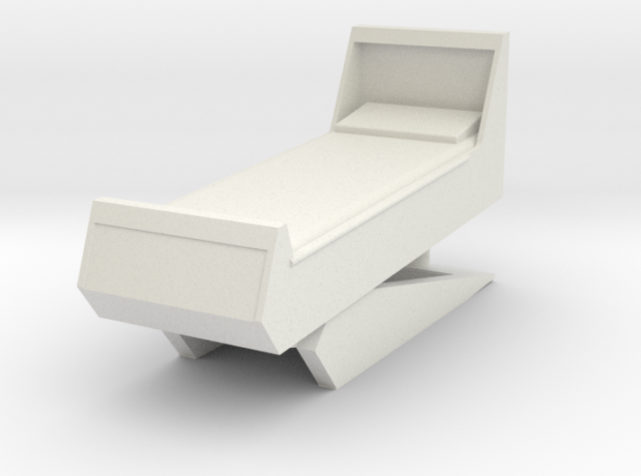 Sickbay Bed (Star Trek Classic), 1/18 3d printed