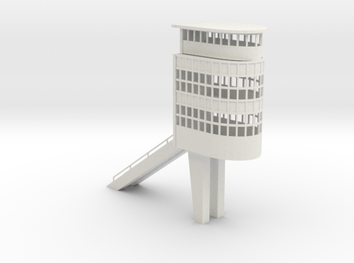Control Tower Autodromo Monza - Slot car 3d printed Control Tower Autodromo Monza -slot car