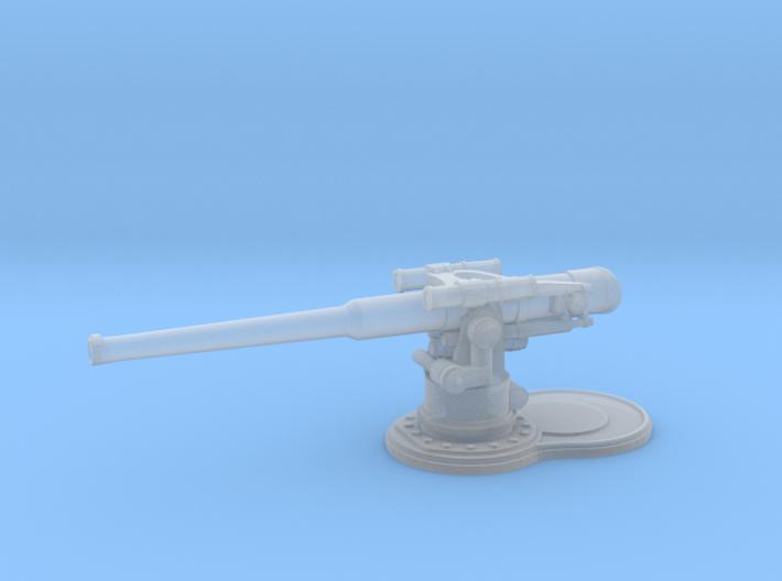 1/240 USN 4 inch 50 (10.2 cm) Gun Deck 3d printed