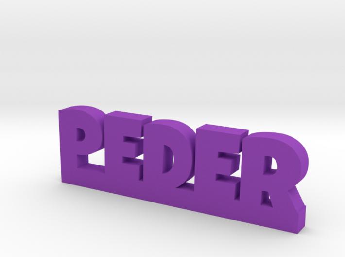 PEDER Lucky 3d printed