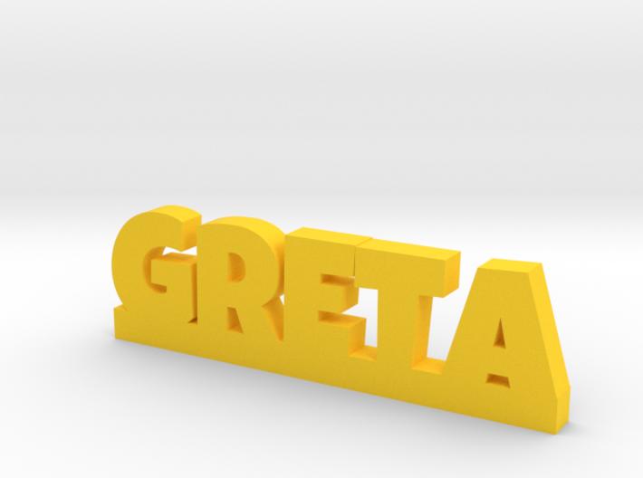 GRETA Lucky 3d printed