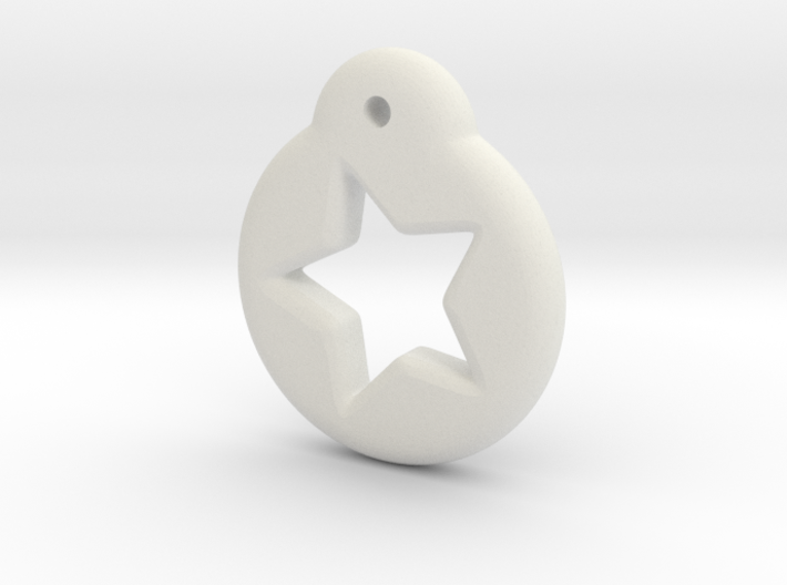 Blythe Doll Pullring *Star* 3d printed