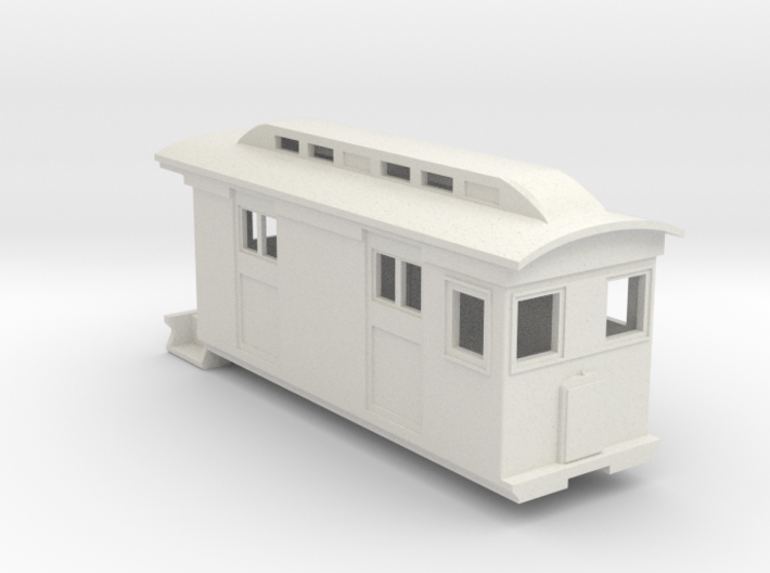 HOn30/OO9 Freight Doodlebug/Railmotor (Megan 2) 3d printed