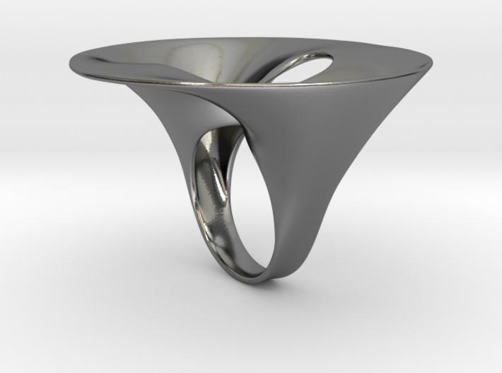 Ring Cuffiadoppia 3d printed