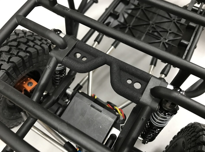Axial Wraith shock tower brace 3d printed
