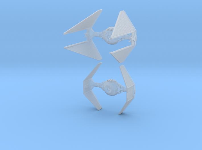 1/144 TIE Interceptor 3d printed