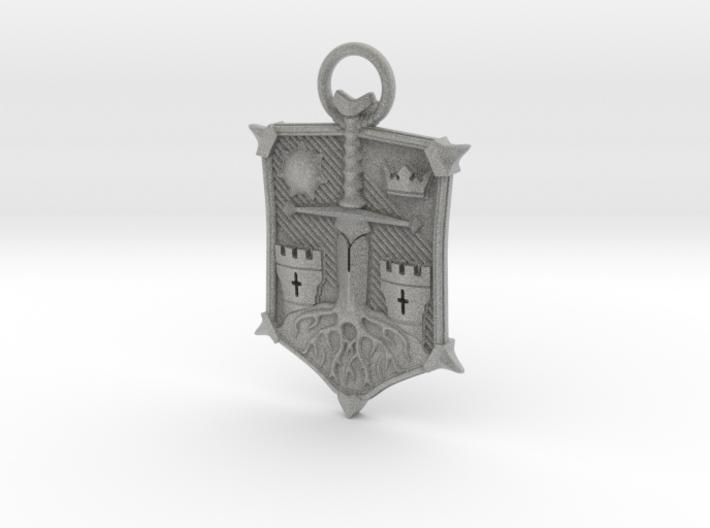 Honor Knight Emblem A 70mm 3d printed