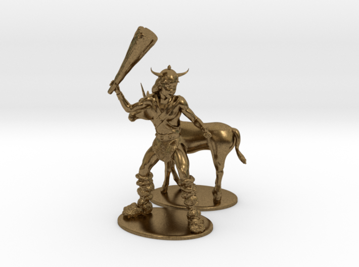 Bobby the Barbarian & Uni Miniatures 3d printed