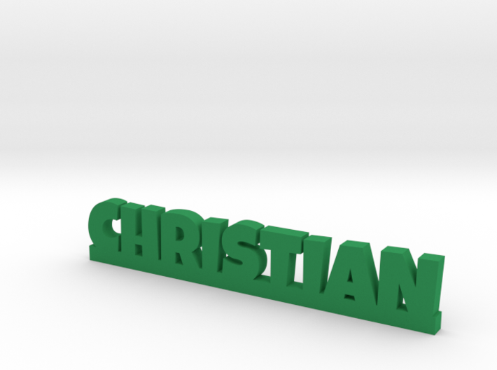 CHRISTIAN Lucky 3d printed
