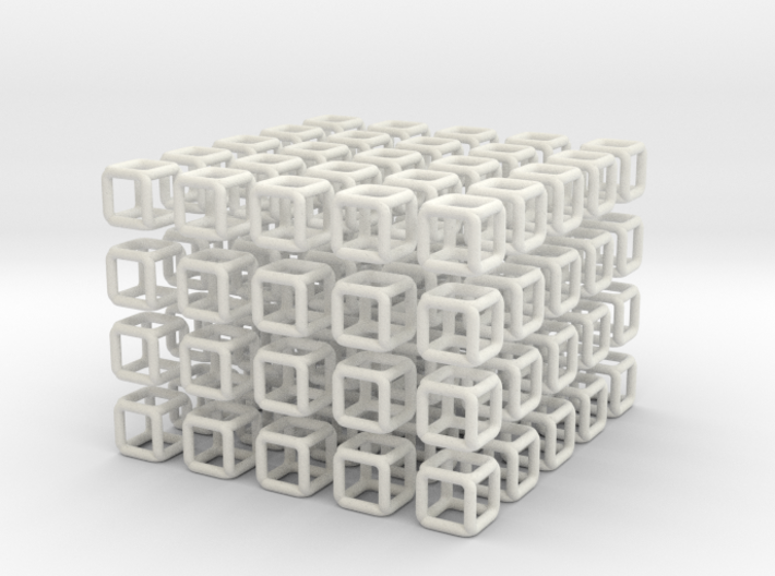 Little Cubes 100x scale 1-100 3d printed