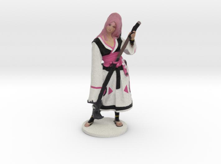 Baiken Figurine 3d printed